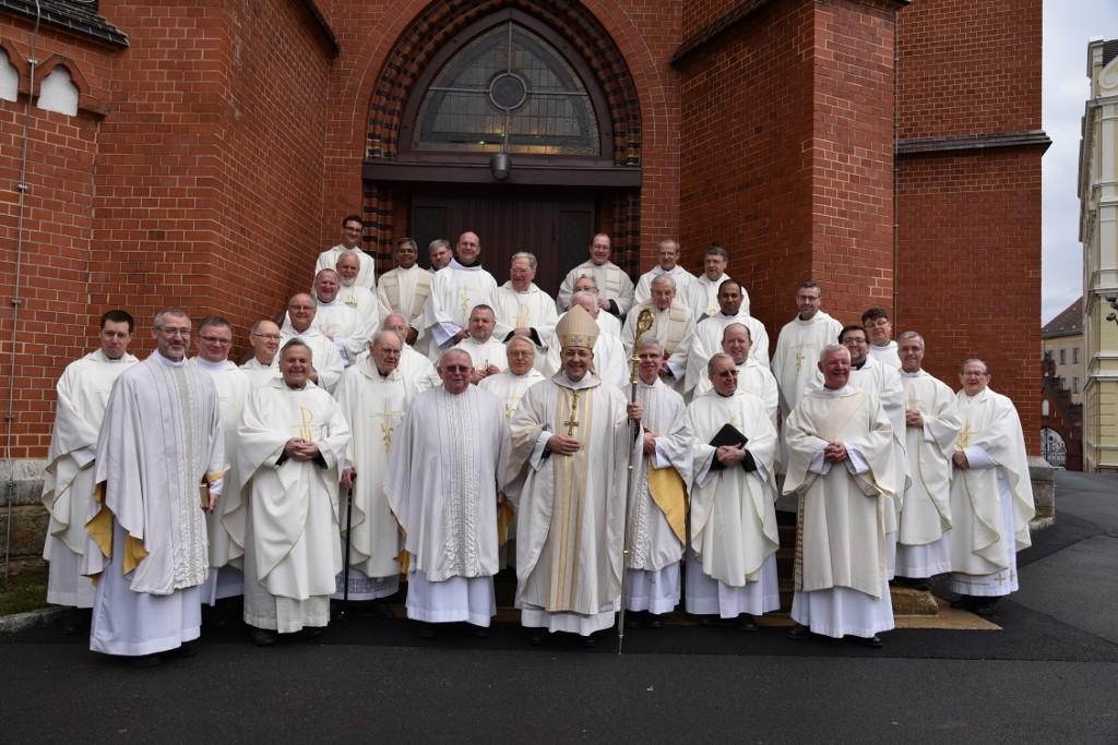 Der Diözesanklerus des Bistums Görlitz