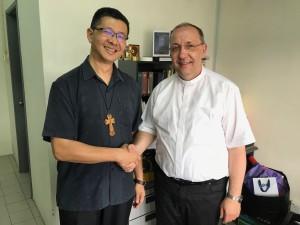 Der Erzbischof von Kuala Lumpur trifft den Bischof von Görlitz